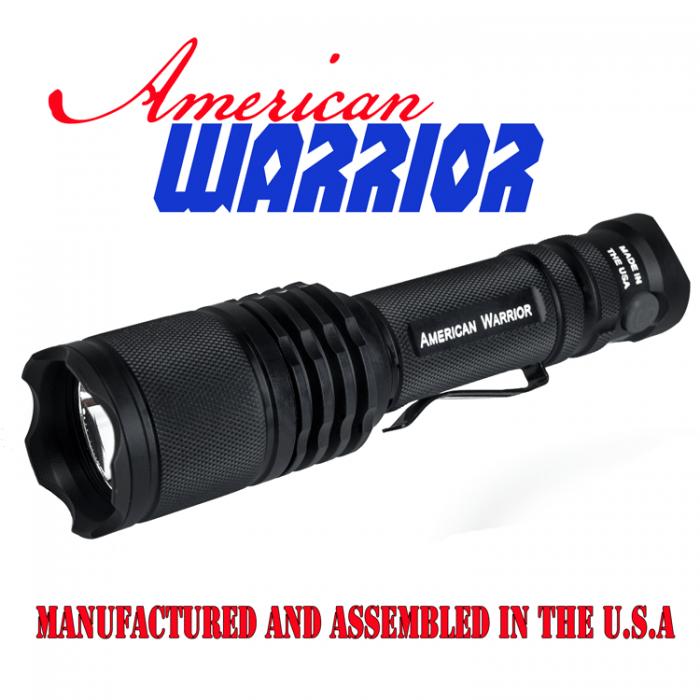American Warrior 650 Lumen LED Flashlight