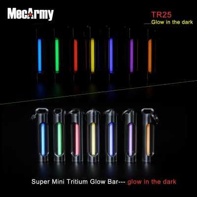 MecArmy TR25 Tritium Glow Bar Every Day Carry