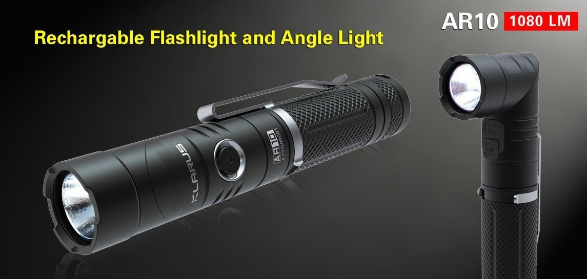 Klarus AR10 Multiangle rechargeable Flashlight