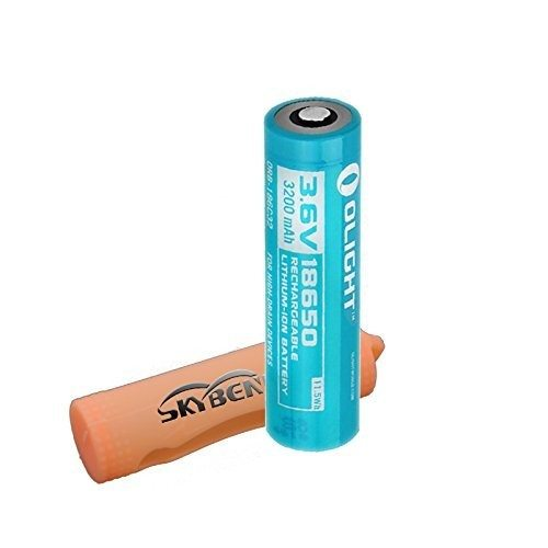 Olight 18650 3200mah Protected Rechargeable Li-ion Battery ...
