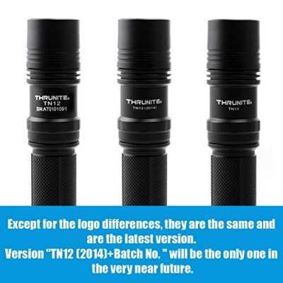 ThruNite TN12 2014 Edition 1050 Lumen Single CREE XM-L2 U2 LED EDC Flashlight, Black Color: Cool White Model: TN12