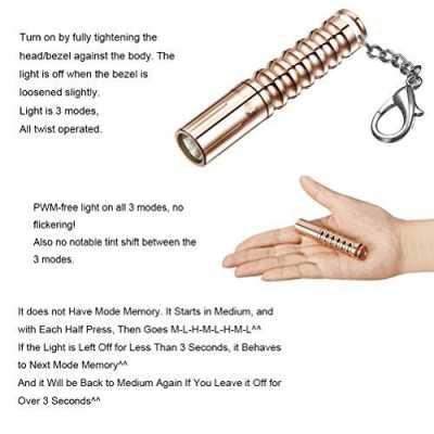 LUMINTOP Worm Mini Flashlight