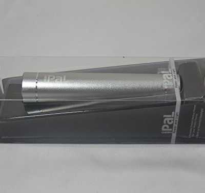 Nebo Pal 6227 Rechargeable Flashlight with Cell Phone 2600mah Battery Pack, Platinum